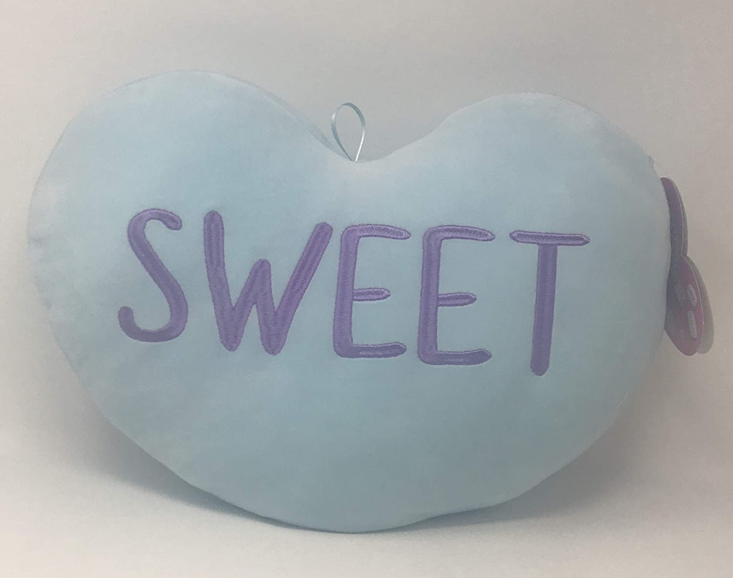 Squishmallow 16 Sweet Heart by Kellytoy and a Fun Chop Chopstick Holder