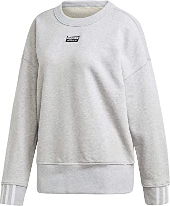 brillo de color diseño elegante al por mayor online adidas Vocal W Sweater Light Grey Heather: Amazon.co.uk: Clothing