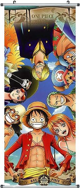 CoolChange Kakemono/Poster de la Serie One Piece, Tema: Piratas Sombrero de Paja: Amazon.es: Juguetes y juegos