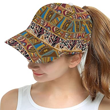 African Art Tribal Print Snapback Hat Baseball Cap at Amazon Men s ... 854ecedc1f8