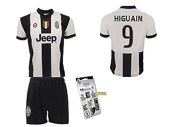 Juventus Completo HIGUAIN réplica del Equipo de fútbol Turín-Camiseta de Adulto Culote-Pegatina Productos Oficiales, Prima Maglia: Amazon.es: Deportes y ...