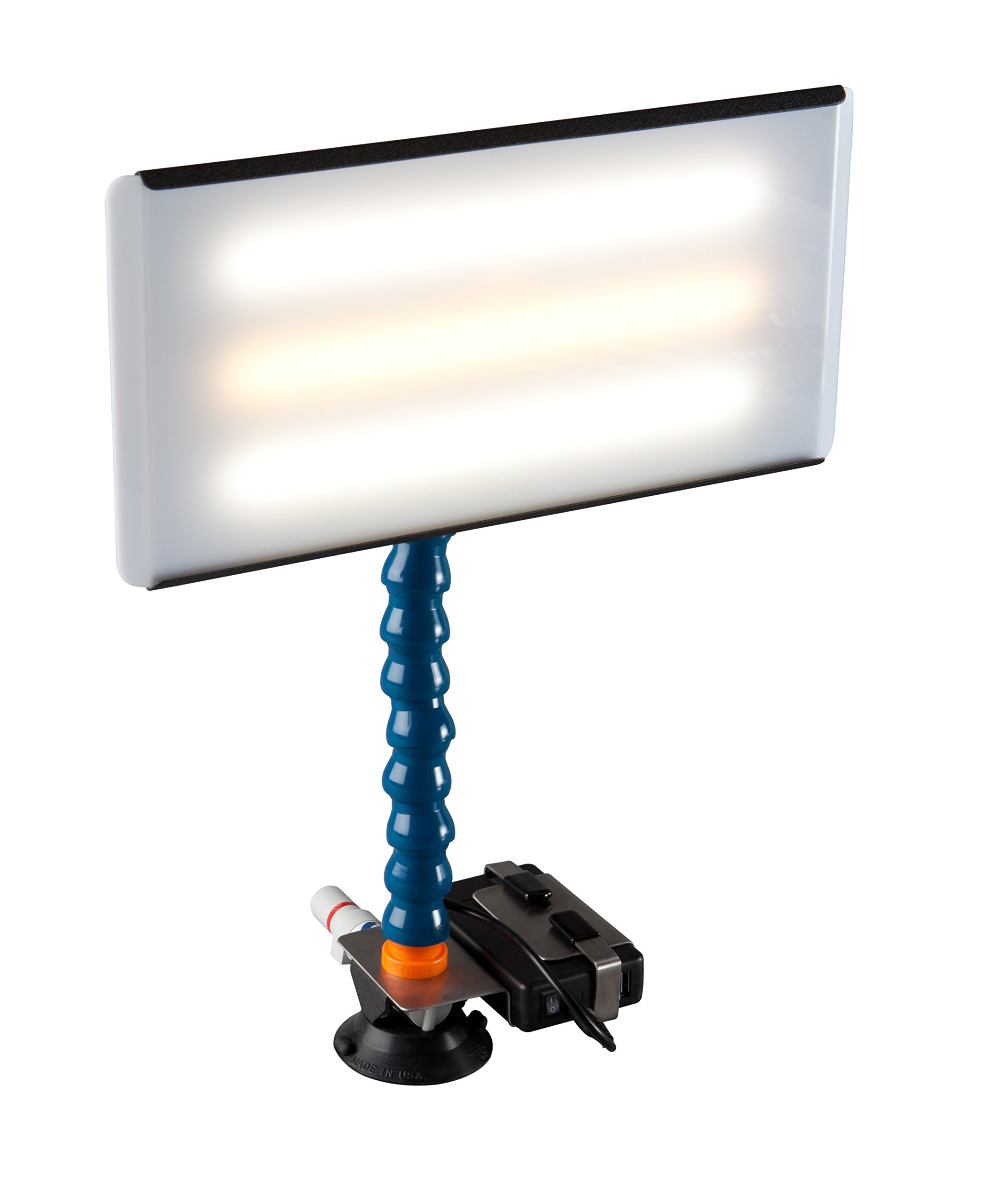 PC LED 133 PDR 13'' Portable 12V CWC LED Light with Battery Paintless Dent Repair