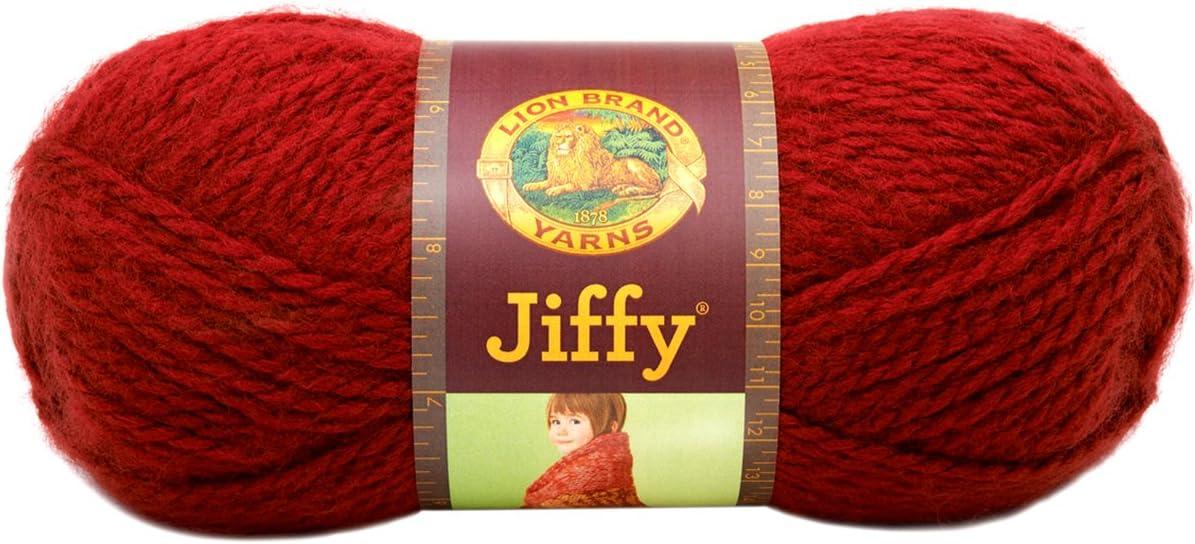 Lion Brand Jiffy DENIM Yarn--5//FIVE Skeins