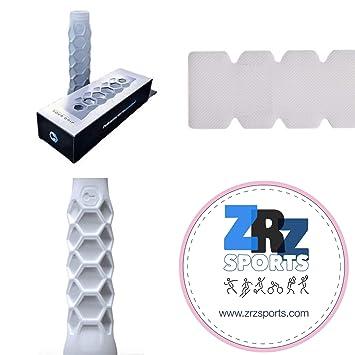 Grip Padel HESACORE Tour Grip + 1 Unidad Protector Pala de Padel ZRZ Dentado Transparente MAS Vendido: Amazon.es: Deportes y aire libre