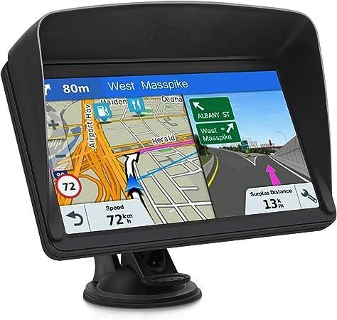 Gps Navi Navigationsgeräte Für Auto Navigation Für Auto Lkw Pkw Touchscreen 7 Zoll 8g 256m Sprachführung Blitzerwarnung Mit Poi 2020 Europa Uk 48 Karten Kostenloses Karte Update Navigation