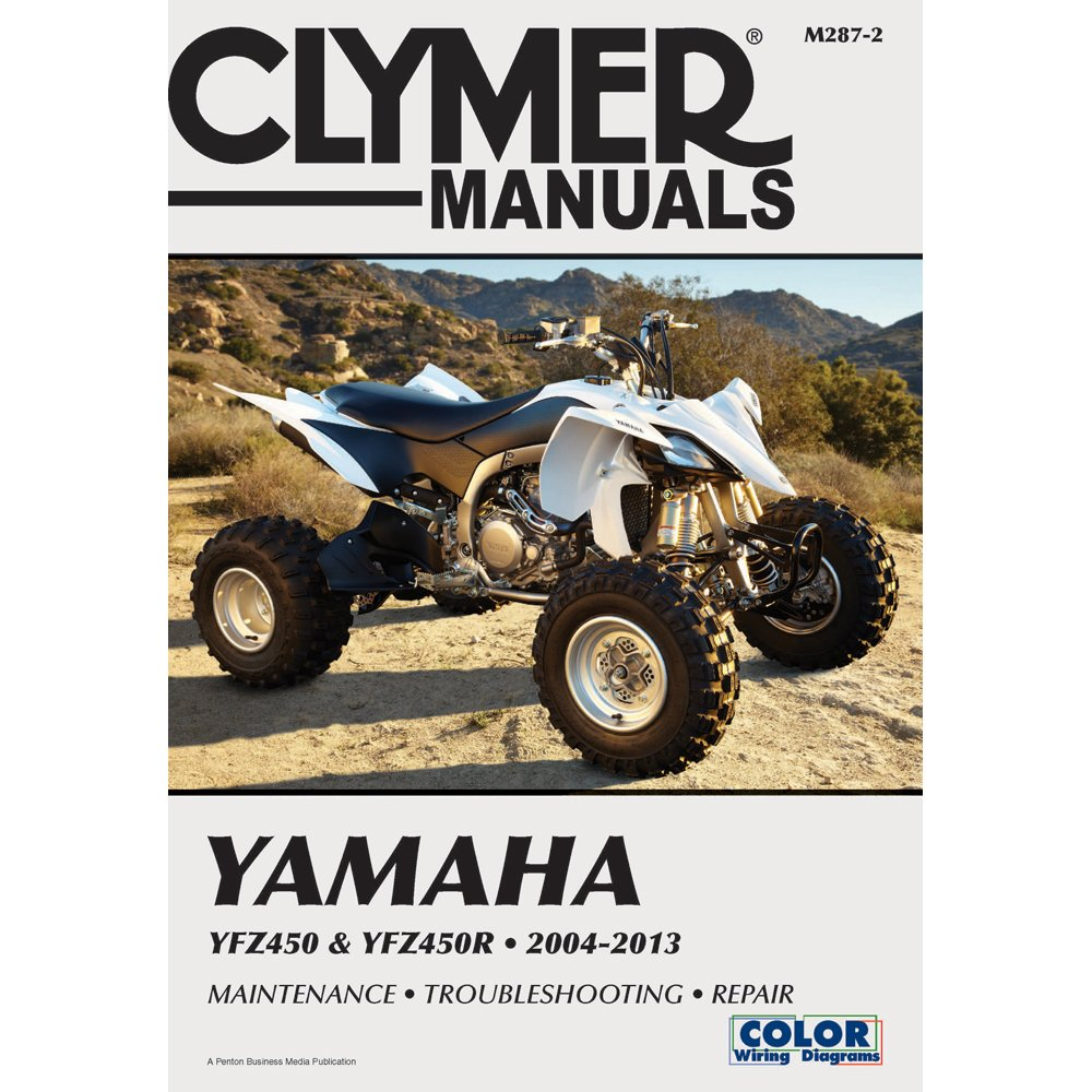 Clymer Manuals Yamaha Yfz450 Yfz450r 2004 2013 Motorcycle Yfz 450r Wiring Diagram Repair Paperback Common By Author Staff 0884628926450 Books