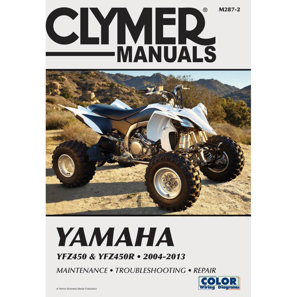 Clymer Manuals Yamaha Yfz450 & Yfz450r 2004-2013 (Clymer Motorcycle Repair) (Paperback) - Common pdf epub