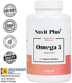 Ovega3 90 | Omega 3 cápsulas | con 3 antioxidantes naturales ...