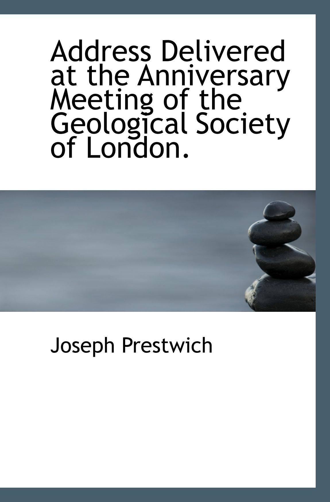 Address Delivered at the Anniversary Meeting of the Geological Society of London. ebook