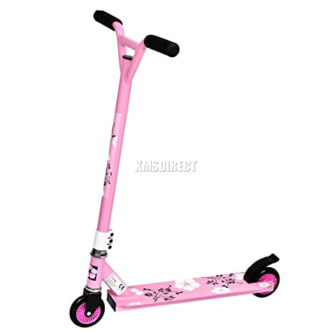 Patinete acrobático para niños y adultos, aluminio, barra ...