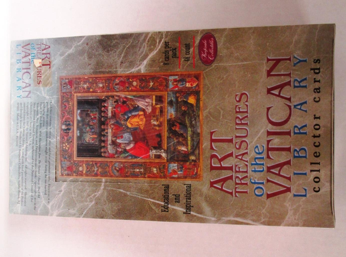 Art Treasures of the Vatican Library Collector Trading Cards Box Set- 48 Packs by Vatican Library