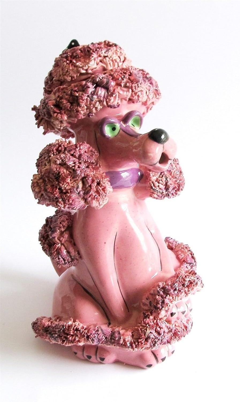 Blue Sky Clayworks Ceramic Figural Teapot Pink Poodle