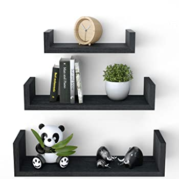 SRIWATANA 3-Shelf Floating Shelves
