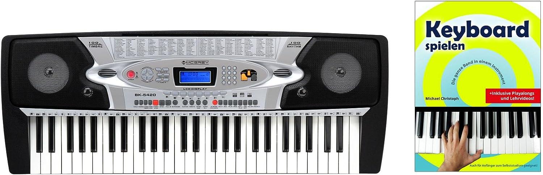 McGrey BK de 5420 54 teclas Set (Keyboard electrónico con 54 ...