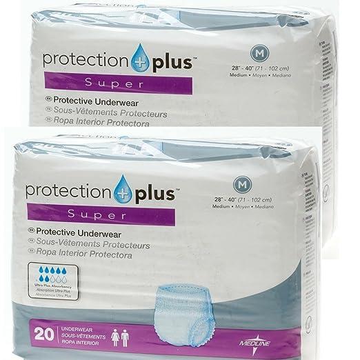 Amazon.com: Protection Plus Super Protective Underwear Medium Adult - Case of 80: Industrial & Scientific
