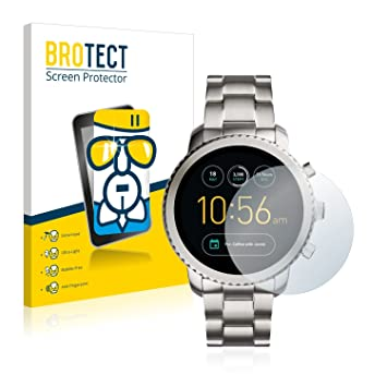 BROTECT Protection Verre pour Fossil Q Explorist Film Protection Ecran Protecteur Vitre - AirGlass