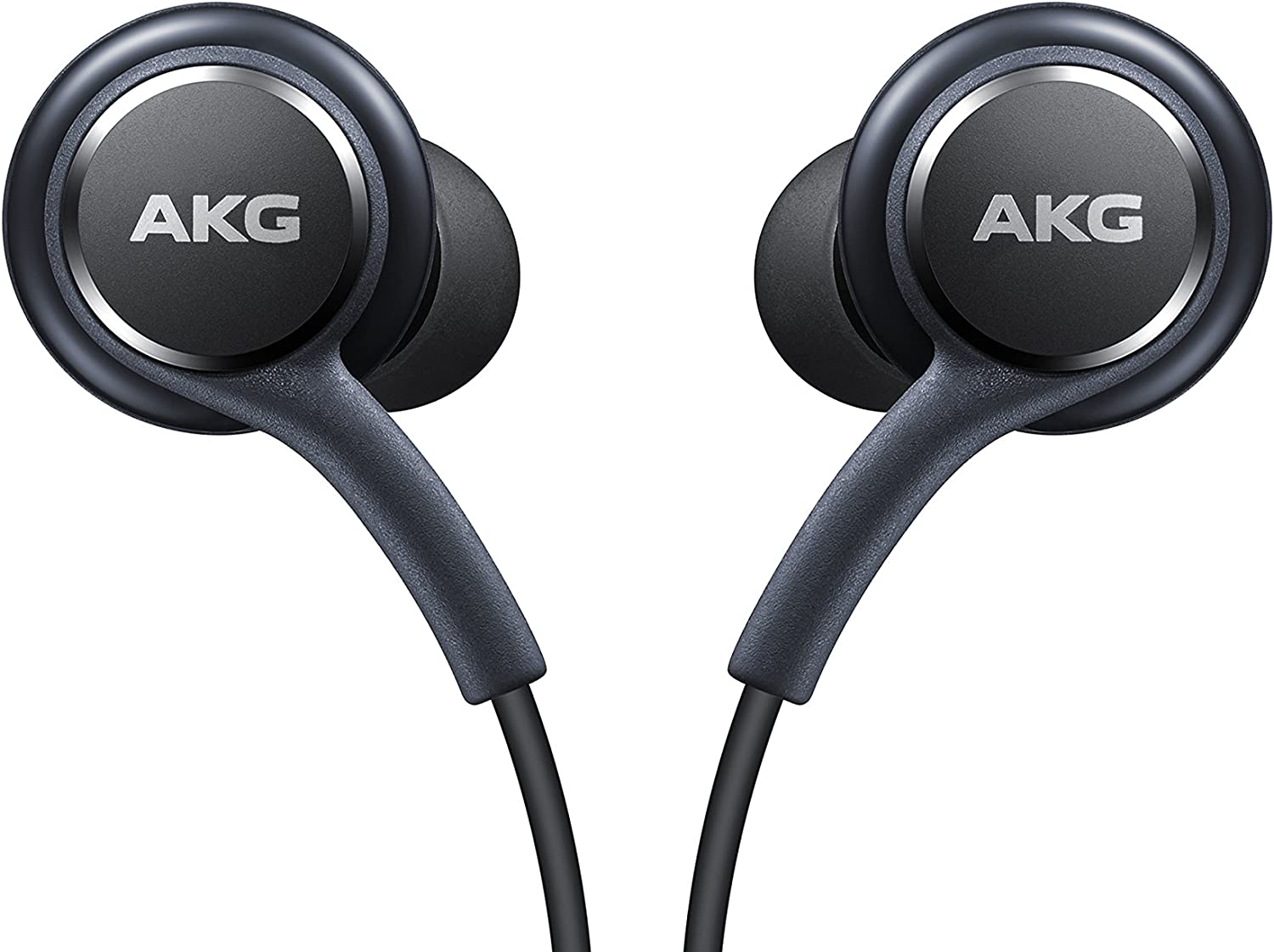 Amazon Com Samsung Earphones Corded Tuned By Akg Galaxy S8 And S8 Inbox Replacement Grey
