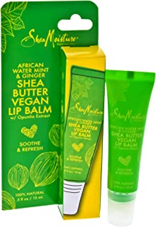 product image for SheaMoisture African Water Mint & Ginger | Shea Butter Lip Balm | 0.5 Oz