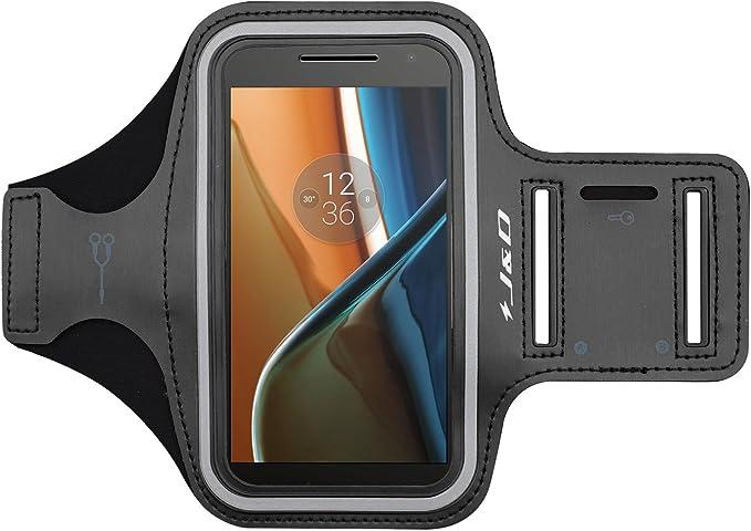 Moto G4/G4 Plus Brazalete, J&D Brazalete Deportivo para Motorola Moto G4, Moto G4 Plus, Ranura para Llaves, Conexión Auriculares Mientras Ejercicios y Carreras: Amazon.es: Electrónica