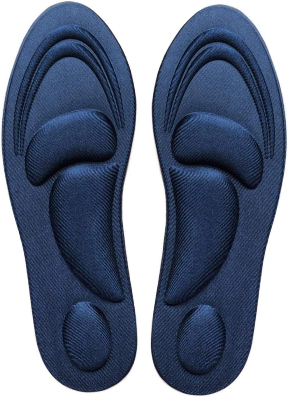 1Pair Memory Foam Shoe Insoles Trainer Foot Care Comfort Relief Pain Cushio O8Y2