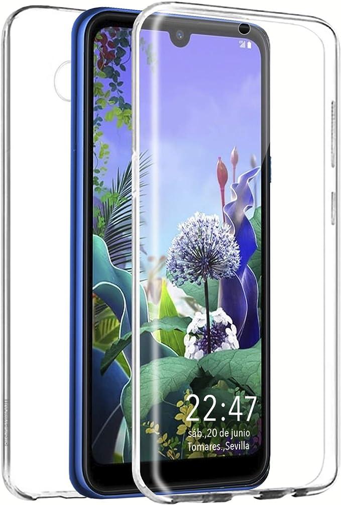 PLANETMOVIL Funda 360 Compatible con [ LG Q60 / K50 ] 6,26 ...