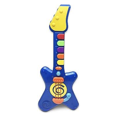 Hunson Jump'n Jive Pre-School Rock'n Roll Light and Sound Guitar Play Set: Toys & Games