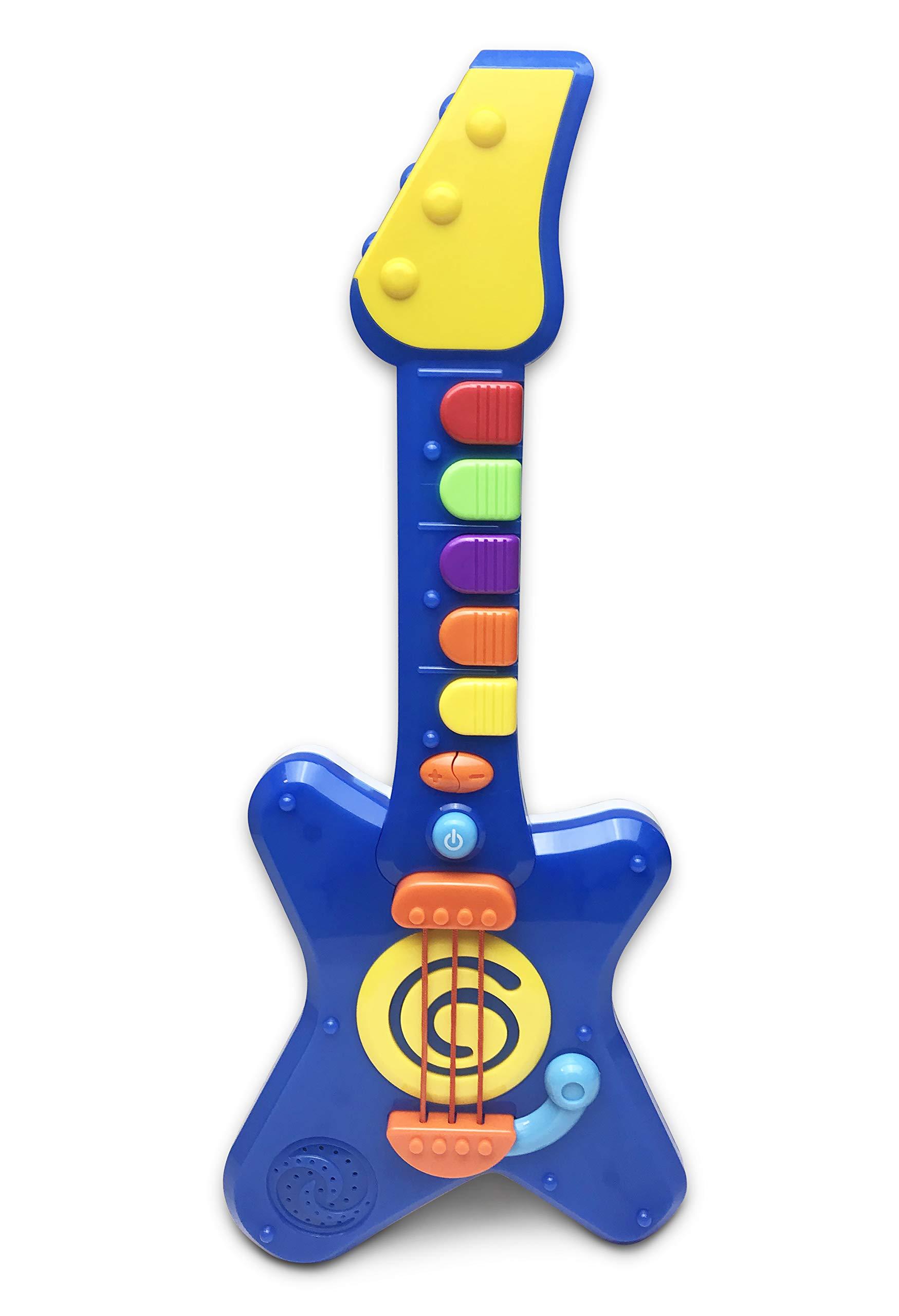 Hunson Jump'n Jive Pre-School Rock'n Roll Light and Sound Guitar Play Set by Hunson