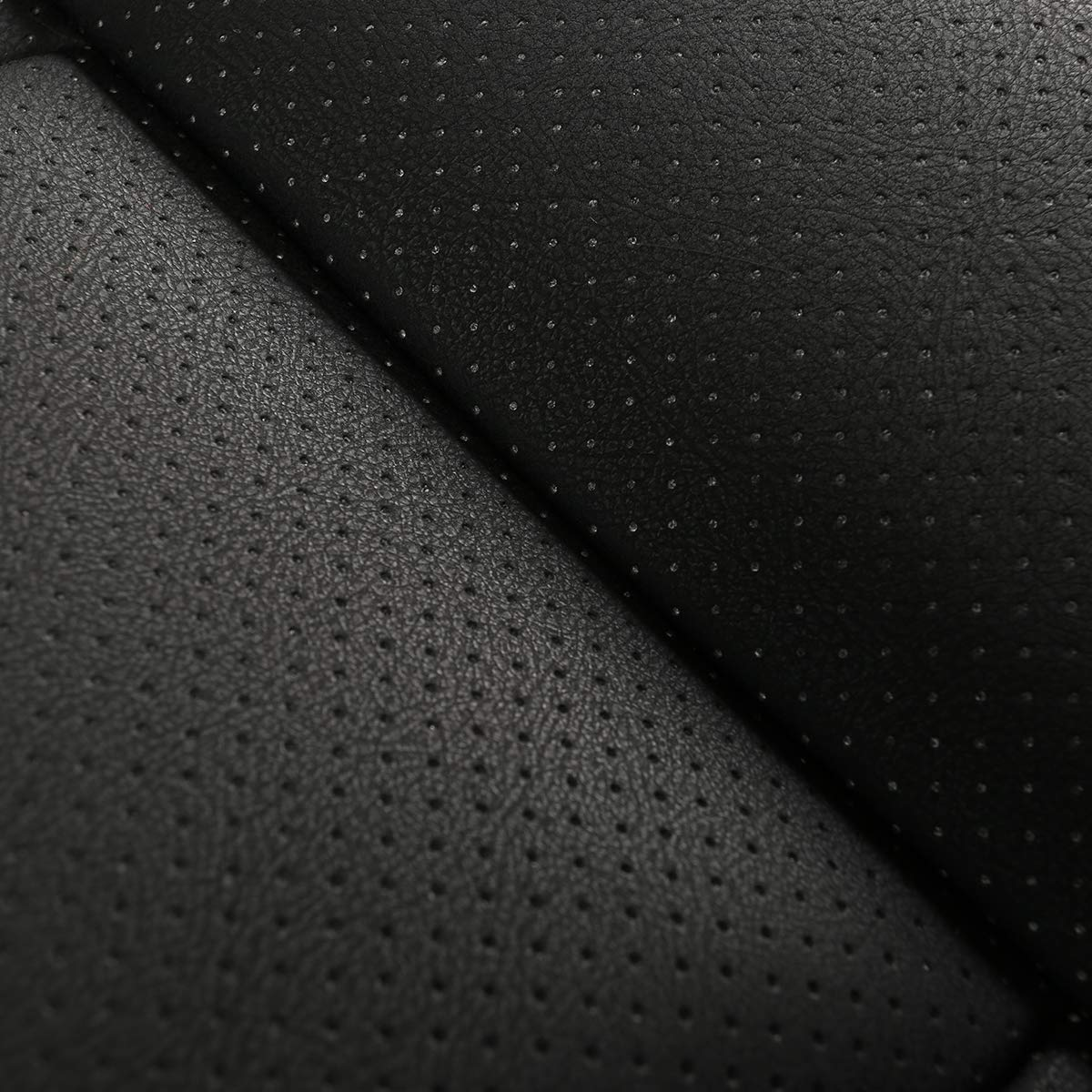 gris cuero de la PU transpirable C/ómodo antideslizante Health Car Seat Coj/ín para Four Seasons Universal SENSUES Car Seat Cover