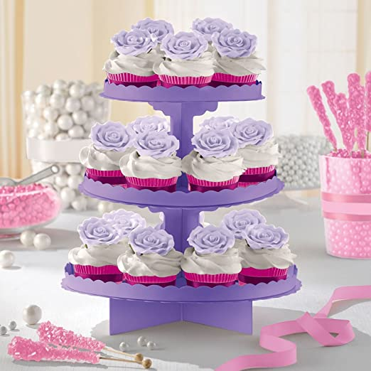 """24 Lavender Dessert 7/"""" Paper Plates Touch of Color Luau Summer Birthday Parties"""