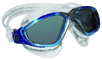 3ec89d7179090 Aqua Sphere Unisex Adult Vista Open Water Swimming Mask, Aqua Blue/ Tinted  Lens,
