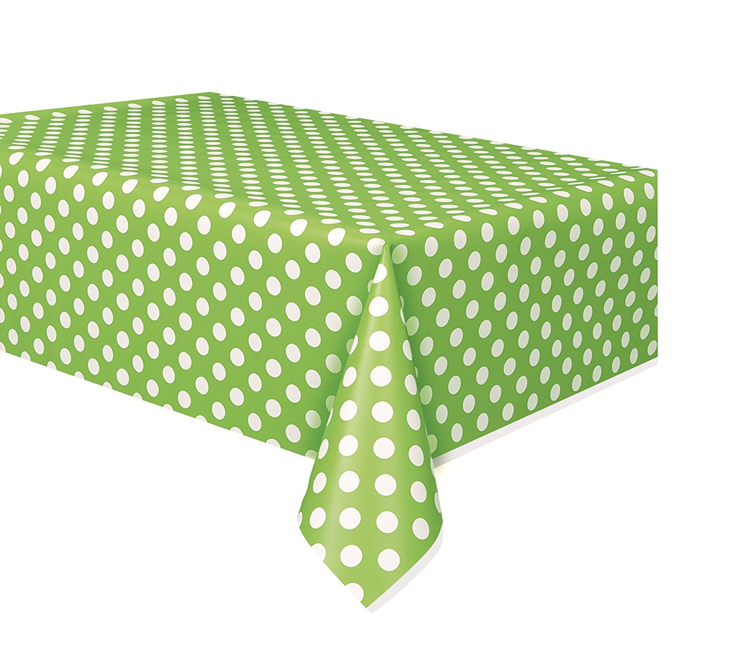 Cups Napkins and Table Cover Lunch Plates Green Party Supplies Deluxe Pack for 16 Guests Including Dessert Plates