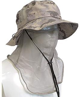 b4b50c81217 Tirrinia Outdoor Sun Protection Fishing Cap with Neck Flap for Baseball  Backpacking Cycling Hiking Garden Hunting