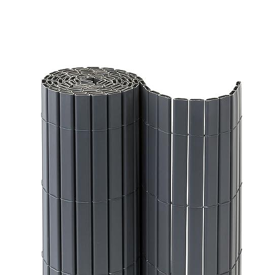 JAROLIFT Premium Canisse en PVC   Brise vue pour jardin, balcon et ...