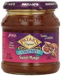 Patak's Sweet Mango Chutney, 12 oz