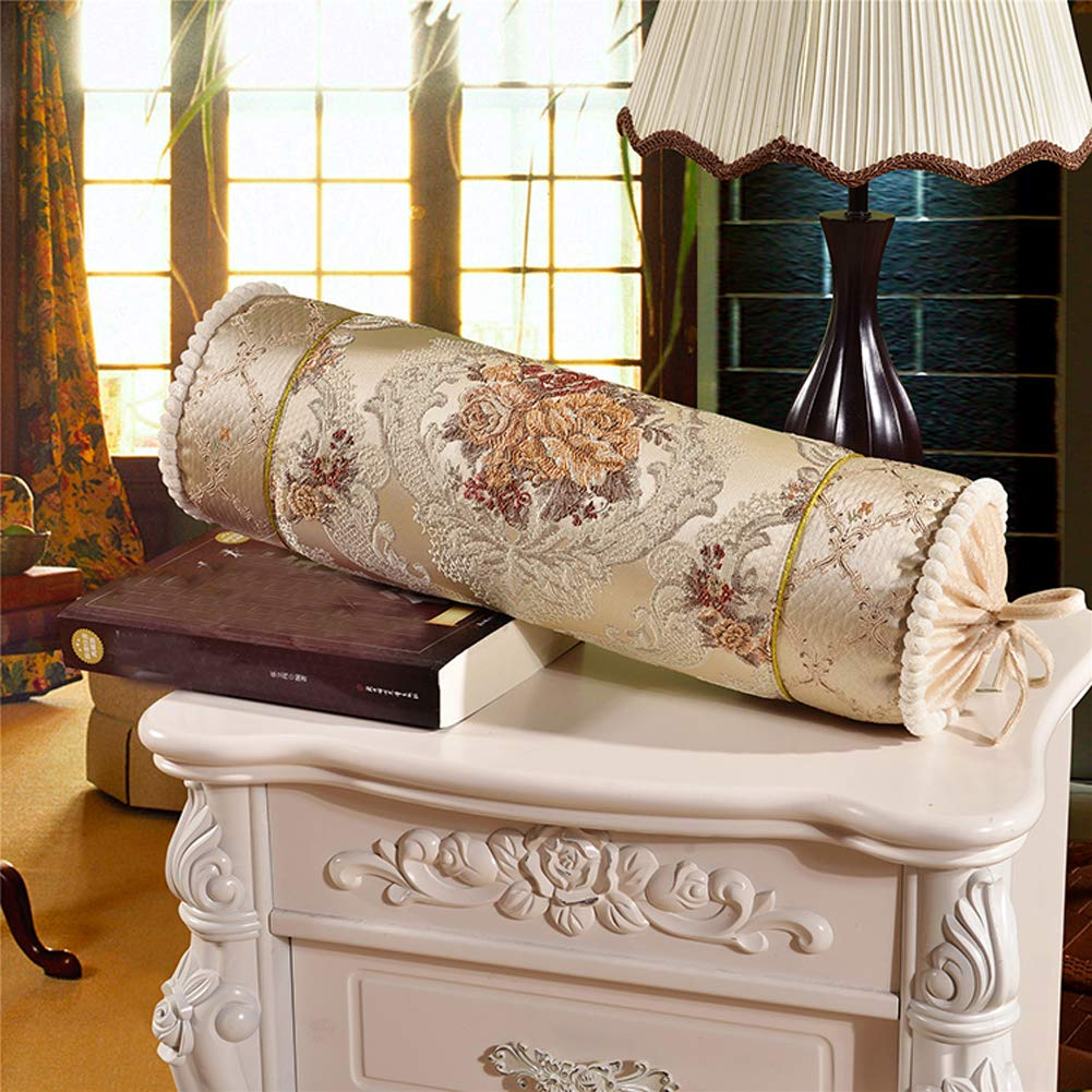 Amazon.com: peacewish caramelo de almohada de sofá largo de ...
