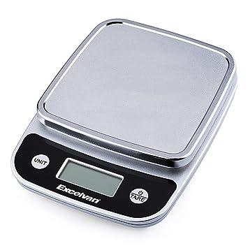 Excelvan CK772 - Balanza Báscula Digital de Cocina hasta 5Kg 11lb (2 ...