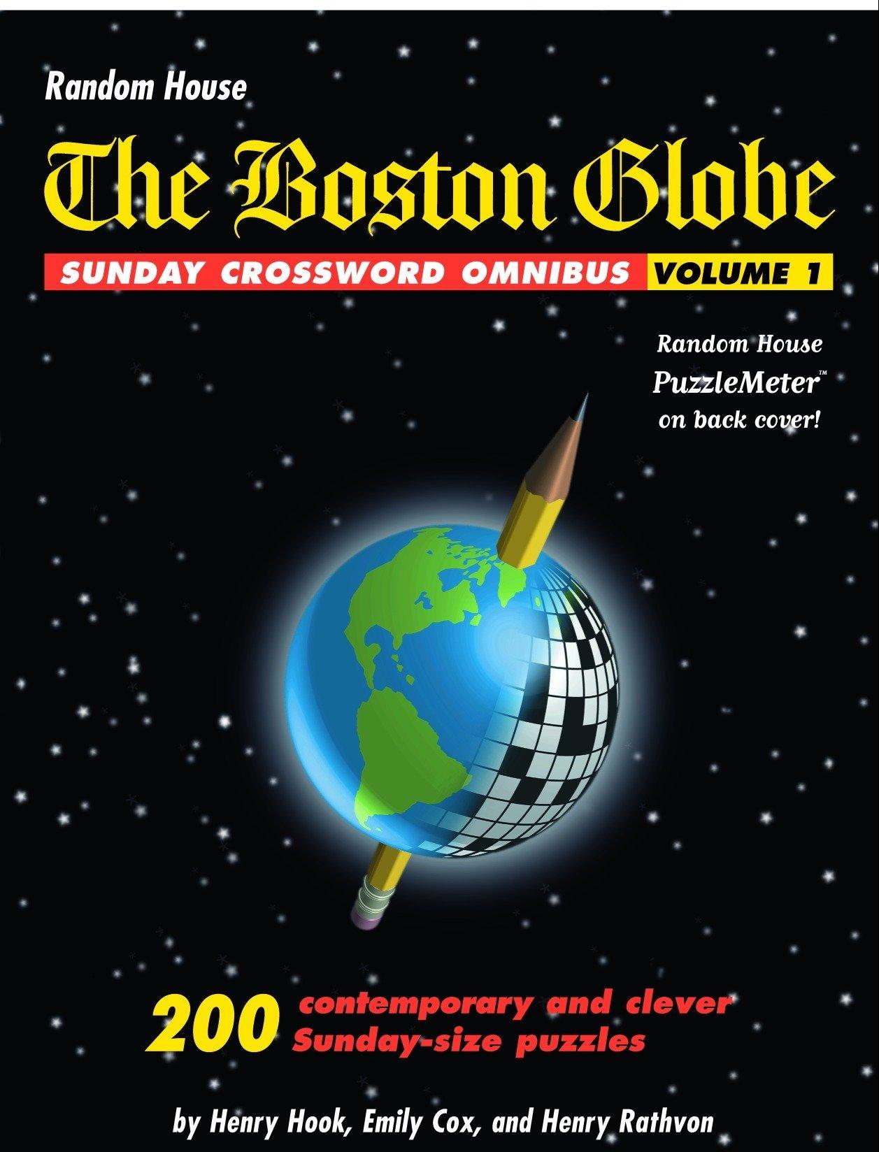 image regarding Boston Globe Crossword Printable named The Boston Earth Sunday Crossword Omnibus, Quantity 1: Henry