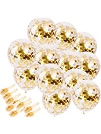 Amazon decorations event party supplies home kitchen sinksons 20 piece gold confetti party junglespirit Gallery