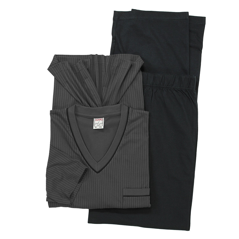 ADAMO Kurzarm Kurzarm Kurzarm Schlafanzug in dunkelgrau der Firma großen Größen bis 10XL B00WLME59M Schlafanzüge Wunderbar 5a2db2