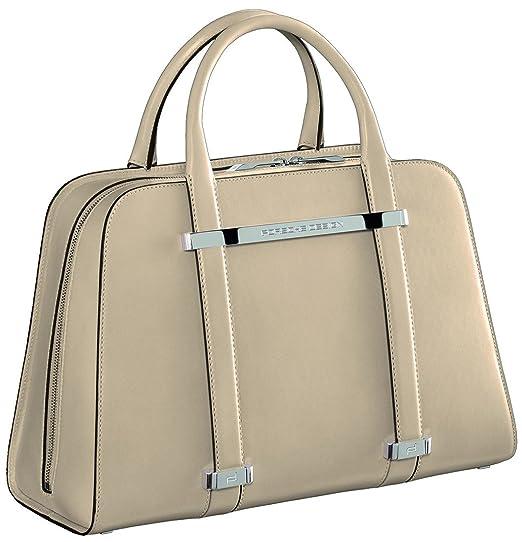 Amazon.com  Porsche Design TwinBag Leather Top Handle Handbag ... 40e1d1bdca0bb