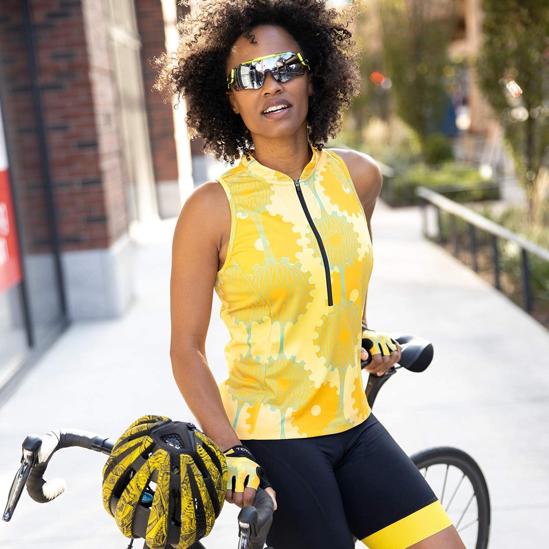 Women/'s Sleeveless Multi-Use Jersey Semi-Fitted Terry Sun Goddess Jersey UPF 50+ Sun Protection