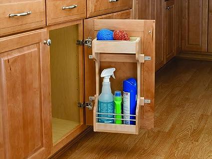 Wondrous Rev A Shelf 4Sbsu 18 Under Sink Storage Shelving System Wood Wire Download Free Architecture Designs Itiscsunscenecom