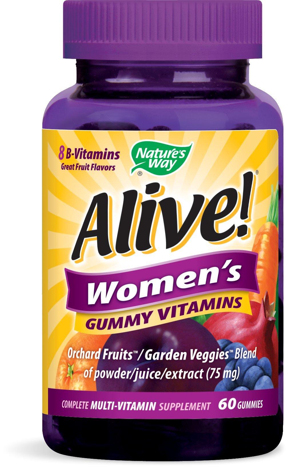 Nature S Way Alive Men S Gummy Vitamins  Ct