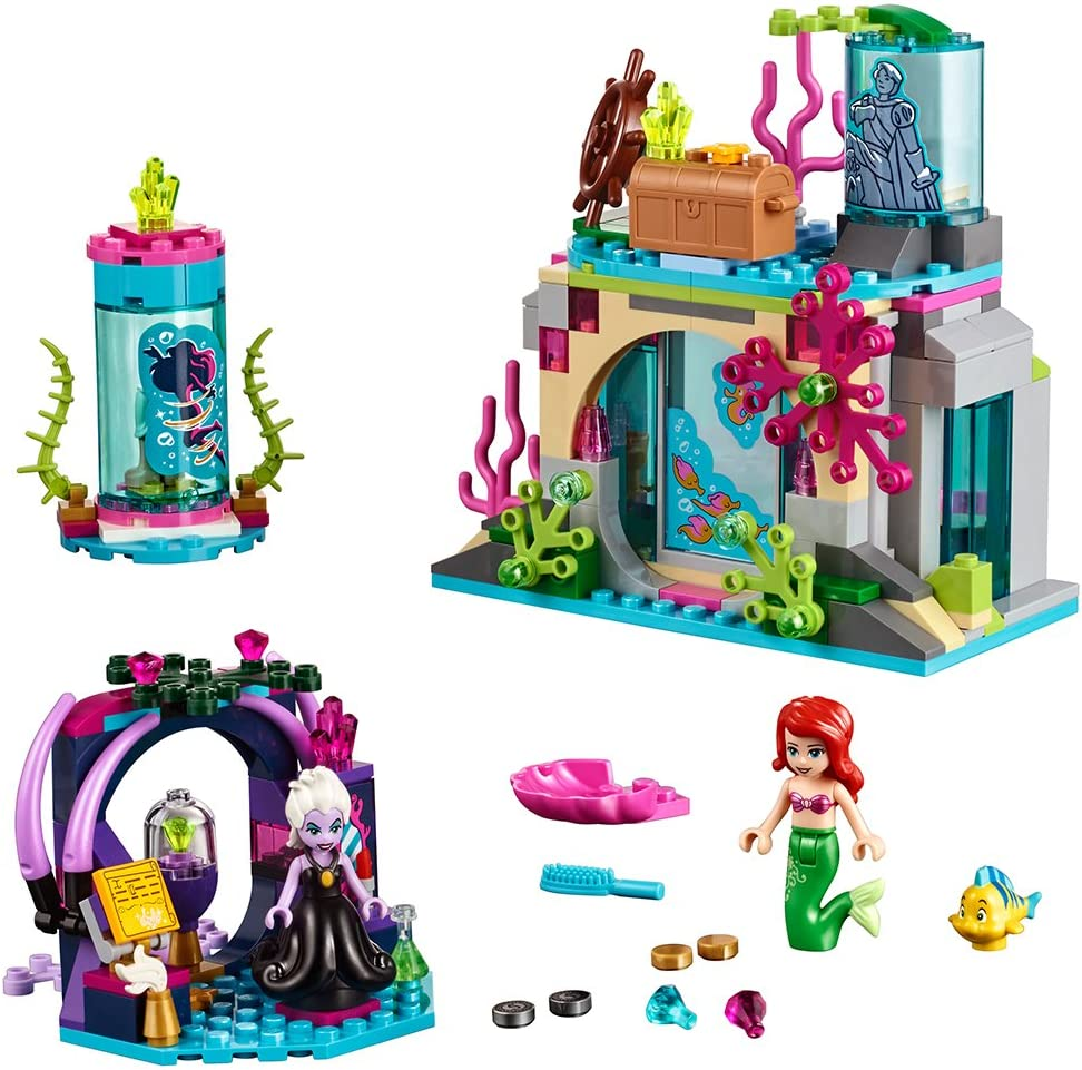 LEGO Disney Princess Ariel and The Magical Spell 41145 Building Kit (222 Piece)