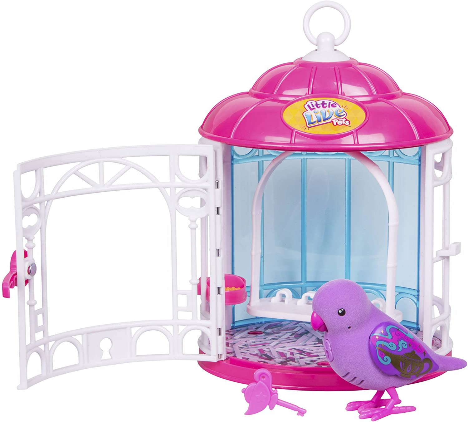 little live pets Pajaritos Parlanchines Con Su Jaula. Serie 7. Dreamy Genie (Famosa) (700013973)