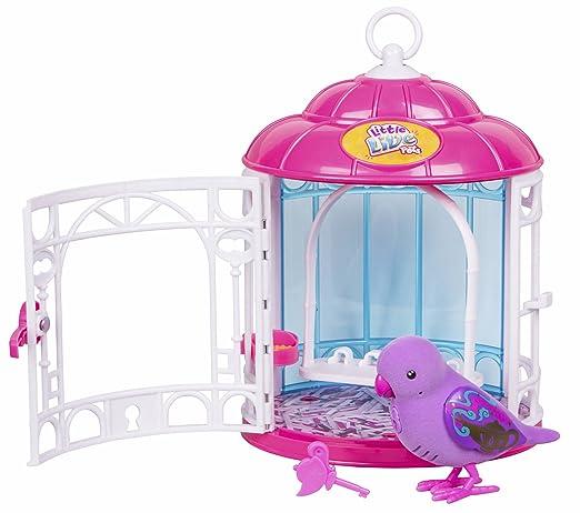 Little Live Pets Birds PARLANCHINES mit seinem Käfig. Reihe 7. Dreamy Genie (Berühmte) (700013973)