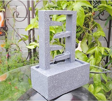 SereneLife Fuente Cascada de Escritorio   Mesa Agua decoración ...