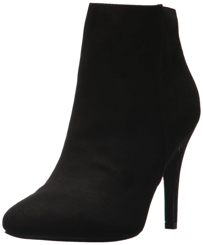 Madden Girl Women's Sally Ankle Bootie B0725G2DVF 8 B(M) US Black Fabric