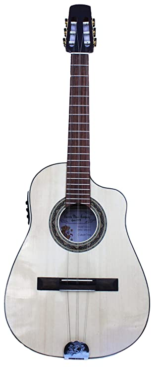 Acoustic Electric Cuban Tres,Tres Cubano Electro Acustico with Fishman Classic Pickup System: Musical Instruments
