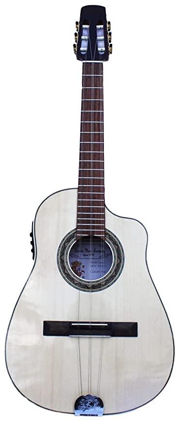 Amazon.com: Tres Cubano .Acoustic Electric Cuban Tres,Tres Cubano Electro Acustico with Fishman Classic Pickup System: Musical Instruments
